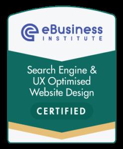seo ux website design certification