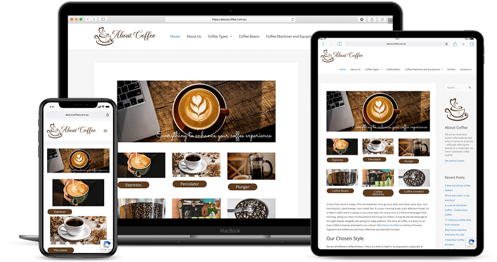 website for coffee lovers
